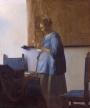 Un des chef d'oeuvre de Vermeer que je vais pouvoir voir au Rijksmuseum à Amsterdam